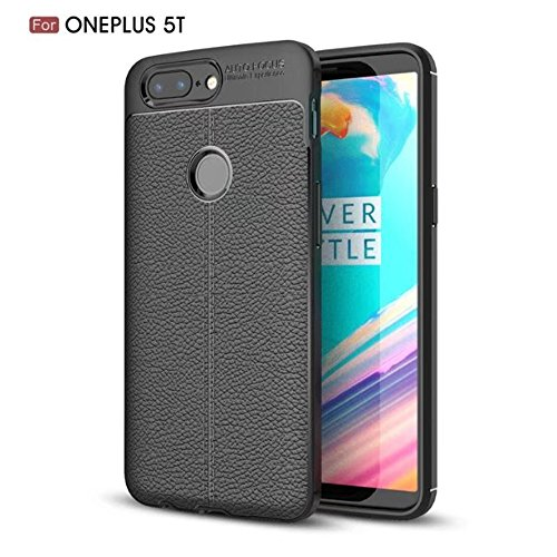 OnePlus 5T Case, Mangix [Scratch Resistant] Flexible TPU Soft Skin Silicone Cover
