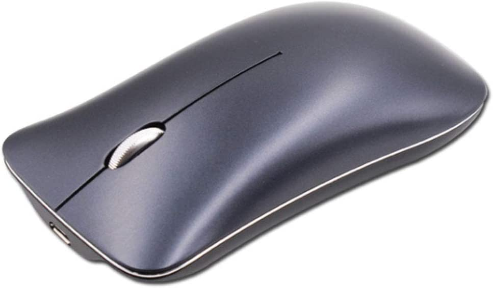 Computer 2.4G Silent Laptop Mouse Ergonomic Wireless Mouse for Laptop Notebook,A Artificial Flower Slim Wireless Mouse Aluminum Alloy Wireless Mouse PC