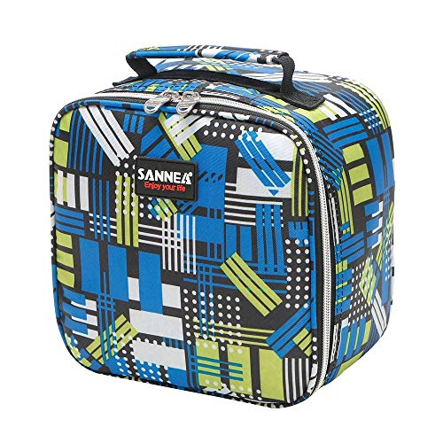 CapsA Lunch Bag Insulated Moisture Resistant Lunch Box Food Container for Men Women Kids Picnic Boating Beach Fishing Work