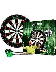 XQ Max Michael van Gerwen Flocked Dartboard Starter Set Including Board and Darts
