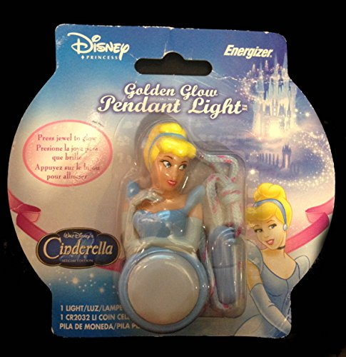 Energizer BNIP Disney Princess Cinderella Golden Glow Pendant Light - 2005