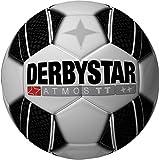 Derbystar Atmos TT Fußball / Spielball Trainingsball Sondermodell weiß/schwarz