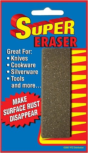 Super Premium Polishing Metal Rust Eraser Bar Single, Outdoor Stuffs