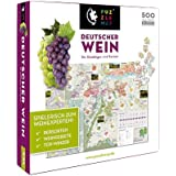 Unbekannt Puzzlemap 88013 - Deutscher Wein