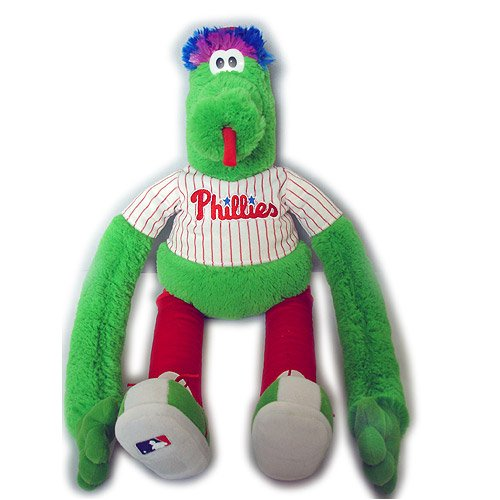 (Forever Collectibles Philadelphia Phillies 18 Inch Plush Mascot Clinger)