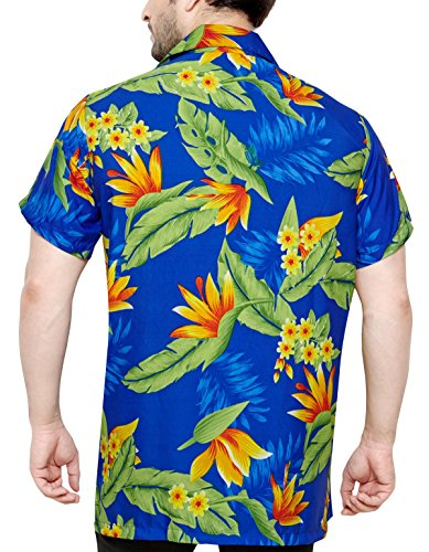 CLUB CUBANA Hawaiiisch drucken Herren Aloha Strand Hemd