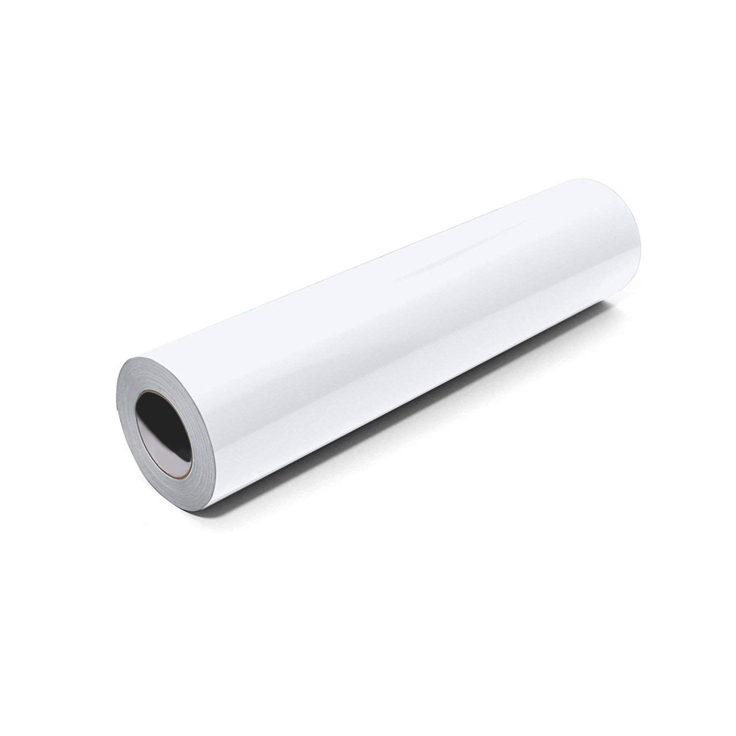 Craft Adhesive Vinyl Color 24in x 50 Yards White Color 24in x 50yd Craft Adhesive Vinyl