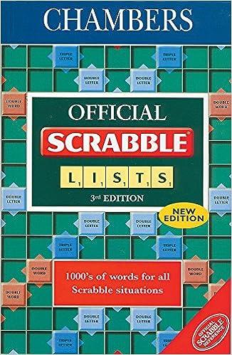 Official Scrabble Lists Interna ed: Amazon.es: Zzzzzzz: Libros en idiomas extranjeros