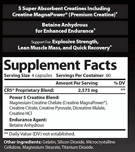 NDS Nutrition - PMD Platinum CR5 Serious Creatine & Recovery Caffeine Free - 240 Capsules