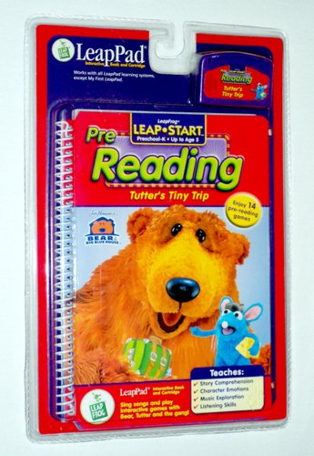 Leappad Interactive Book (Tutter's Tiny Trip (LeapPad Interactive Book and Cartridge, Pre-Reading, Preschool-K, Up to Age)