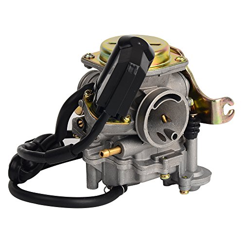 HIFROM TM Carb Carburetor for Scooter 50cc Chinese GY6 139QMB Moped 49cc 60cc by HIFROM (Image #4)'