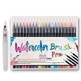 Best Color Markers - Premium Watercolor Soft Brush Pen - Flexible Tip Review