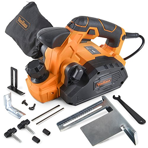 Edge Decorative Replacement Blade - VonHaus 7.5 Amp Electric Wood Hand Planer Kit with 3-1/4