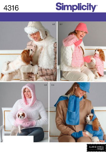Simplicity Sewing Pattern 4316 Accessories,, A (All Sizes) (Dog Patterns For Sewing compare prices)