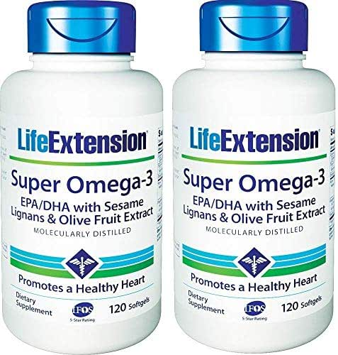 Life Extension Super Omega 3 Epa Dha (2 X 120)