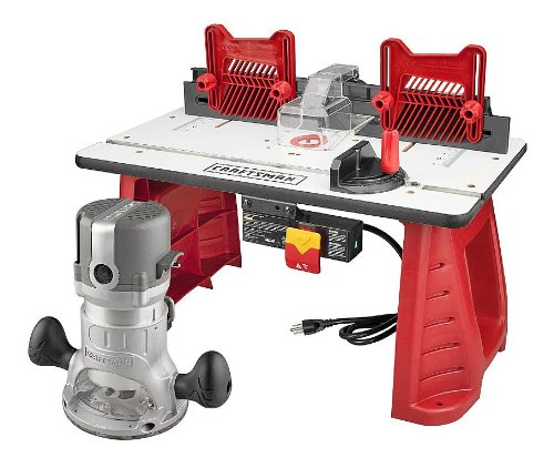 Craftsman Router and Router Table Combo (Combo Table Saw)