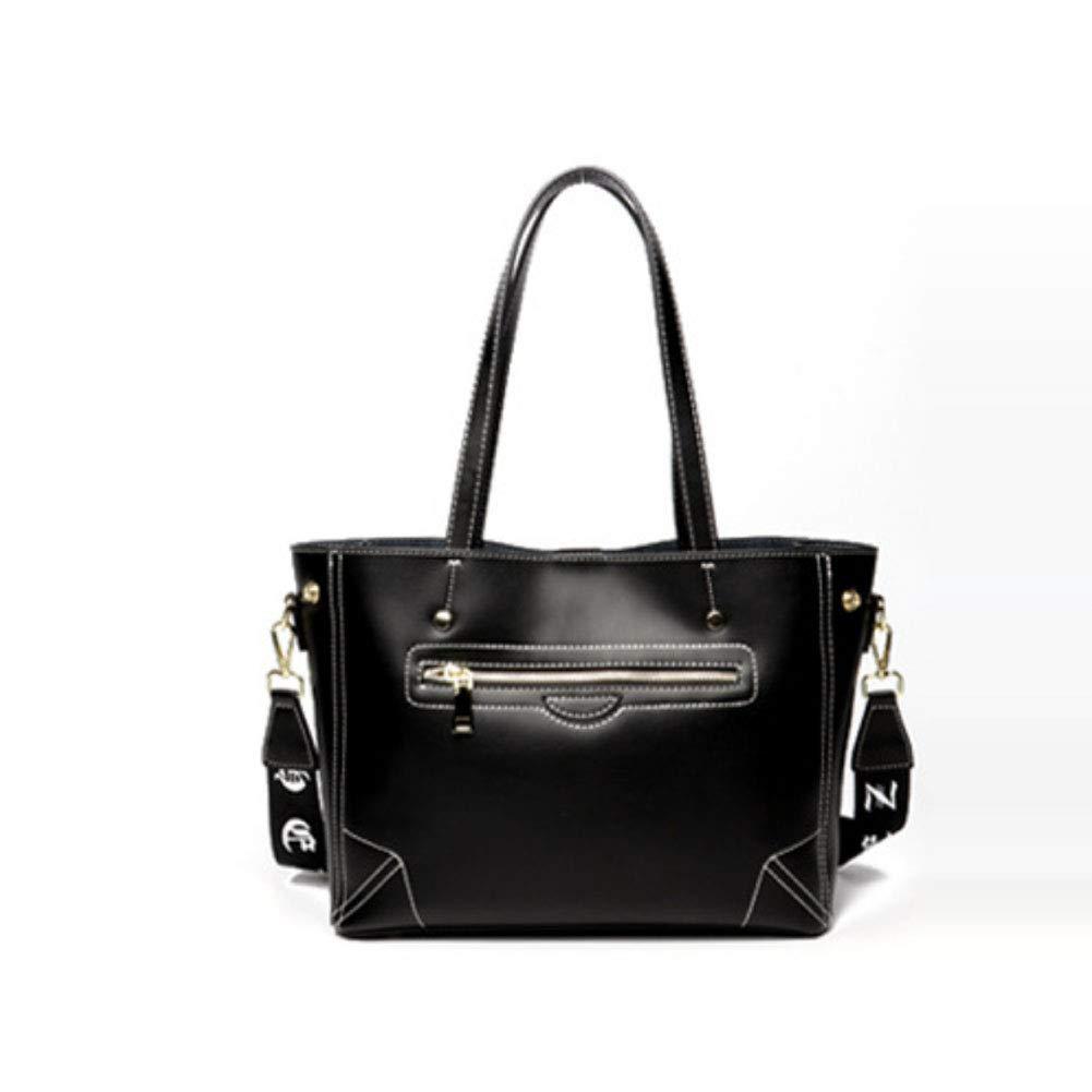 Leather Fashion Simple Ladies Shoulder Diagonal Bag Handbag Large Capacity Handbag Womens Tote Crossbody Bag Color : B, Size : 27CM16VM27CM