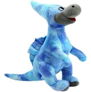 Simulación Animales de peluche dinosaurios y juguetes de peluche para niños (Monoclonius Azul 50cm)