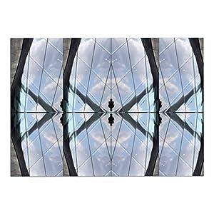 "hot sale KESS InHouse JK2006ADM02 Tiny September ""Butterfly Glass"" Blue Black Photography Dog Place Mat, 24"" x 15"""