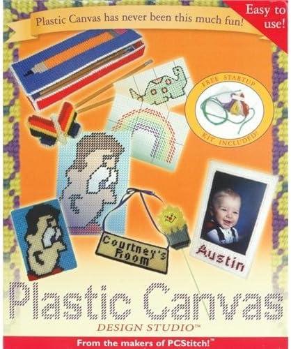 Amazon Com M R Technologies Plastic Canvas Design Studio Software Version 2 0 Electronics