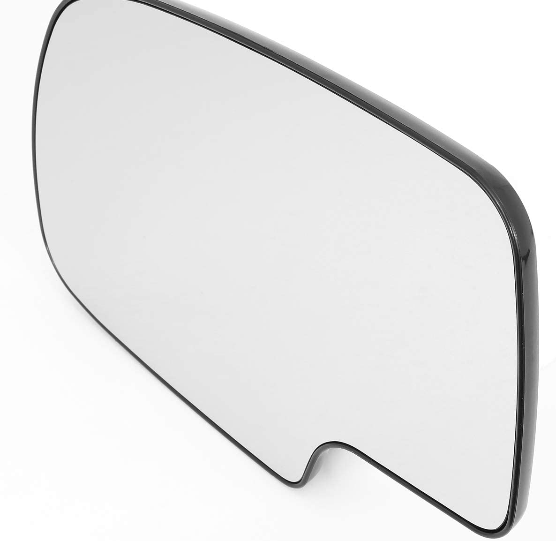 DNA Motoring SMP-059-L Left//Driver Side Door Rear View Mirror Glass Lens