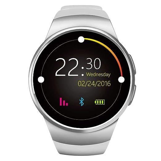 ZDY Smart Watch 1.3 Pulgadas IPS Pantalla táctil Redonda ...