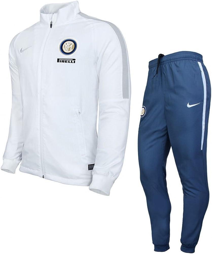 Nike Inter Y Nk Dry TRK Suit Sqd K Chándal Milán, Hombre: Amazon ...