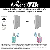 Mikrotik SXTsq Lite5 5GHz wireless device 16dBi integrated antenna 802.11a/n point to point (RBSXTsq5nD) 2-UNITS