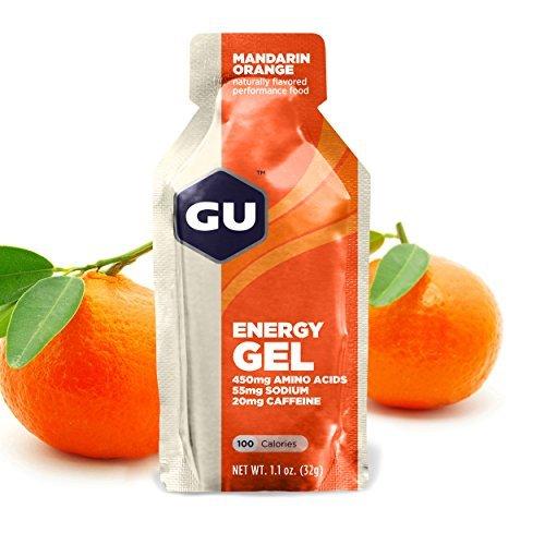 GU Original Sports Nutrition Energy Gel, Mandarin Orange, 8-Count by GU Energy Labs (Gu Energy Labs Original compare prices)