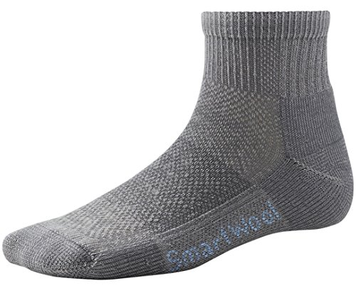 SmartWool Women's Hike Ultra Light Mini Socks (Gray) Small - Smartwool Athletic Light Mini