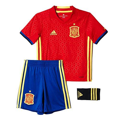 Adidas Spain Home Mini Kits [Scarlet/Yellow] (2T)