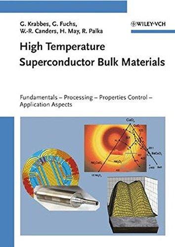 High Temperature Superconductor Bulk Materials: Fundamentals, Processing, Properties Control, Application Aspects