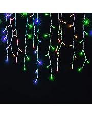 Cascata de Luz Led 400 Leds 10m Luzes de Natal Decoração Interna Natalina e Festas - Bella Net