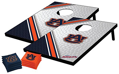NCAA College Auburn Tigers Tailgate Toss Bean Bag Game Set, Medium (Game Auburn Tigers)
