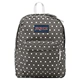 JanSport Backpack Shady Grey/White