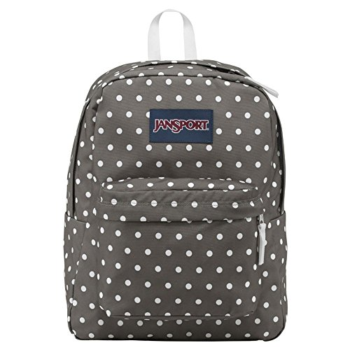 Dot Bags Grey - JanSport Backpack Shady Grey/White