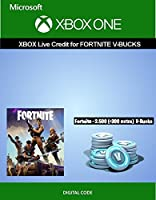 Xbox Live Credit For Fortnite - 2,500 V-Bucks + 300 Extra V-Bucks | Xbox One [Digital Code]