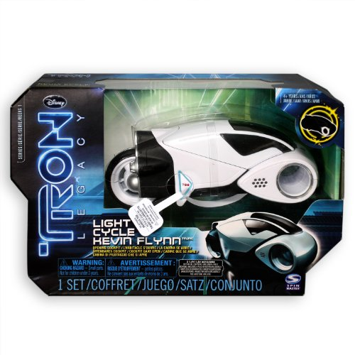 Tron White Light Cycle