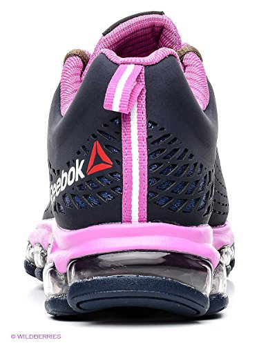 Reebok - Zjet Run Lux - M48068 - Color: Negro-Rosa - Size: 36.0