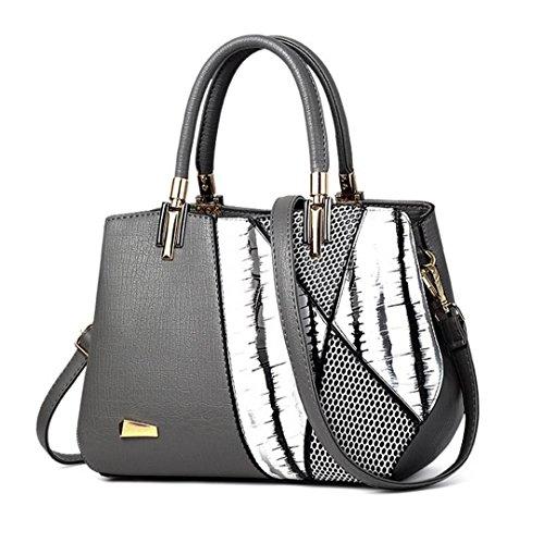 de femme de bandoulière Sacs Light luxe cuir Grey à serpentine Design main en à mode Sacs célèbre femme AwqqPO1
