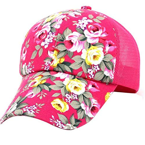 Girl Hat Cute Baseball Cap Sun Hat Hip Hop Cotton Adjustable Embroidery