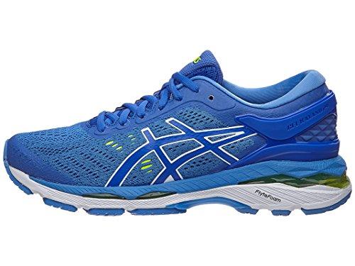 ASICS Womens Gel-Kayano 24 Running Shoe Purple/Regatta Blue/White, 5.5 Medium US