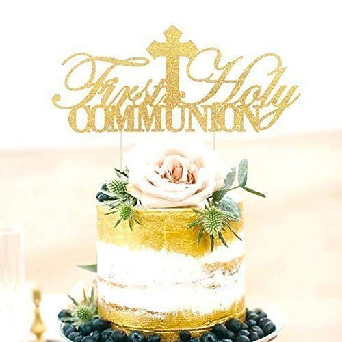 Amazon Com First Holy Communion Cake Topper First Communion