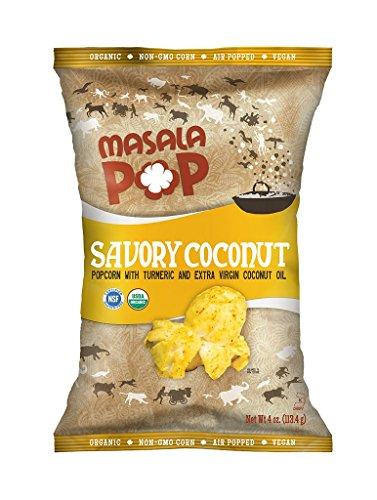Masala Pop – Savory Coconut (Tumeric & Coconut)