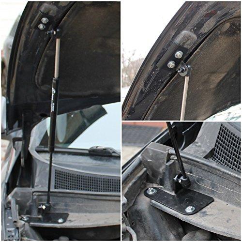 CTW Front Hood Bonnet Shock Absorber Strut Lift Damper x1 pc Installation Rod Kit Fit Kia Sportage III 2010-2015