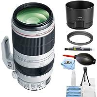 Canon EF 100-400mm f/4.5-5.6L IS II USM Lens BUNDLE (Starter Bundle) [International Version]