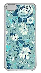 LJF phone case Apple iphone 4/4s Case - Green Peony Funny Lovely Best Cool Customize iphone 4/4s Cover