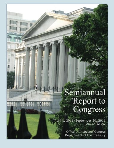 Semiannual Report to Congress April 1, 2011- September 30, 2011 ebook