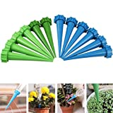 vaporizer lube - YJYdada 12× Automatic Watering Irrigation Spike Garden Plant Flower Drip Sprinkler Gift