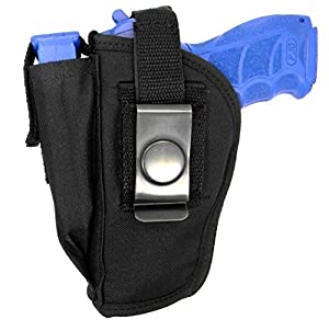 "USA Made Ambidextrous Clip-On or Belt Slide Holster for Taurus TH9, PT 24/7, 4.2"",809 840 845 909 940 Barrel"